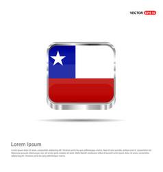 chile flag design vector image
