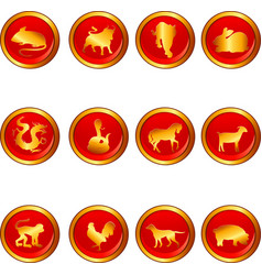 Chinese astrology vector