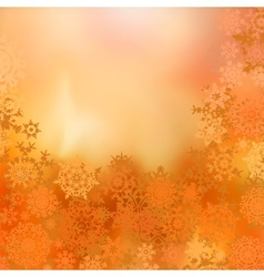 christmas warm background vector image