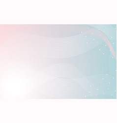 soft pastel dynamic line wavy background abstract vector image