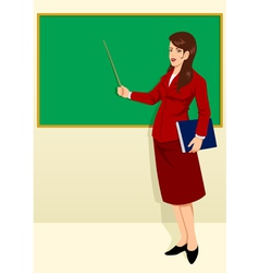 Teacher vector image vector image