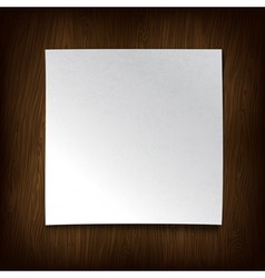 paper on wall vector image vector image