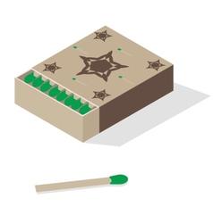 matchbox vector image