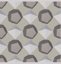 3d modern seamless pattern vector image