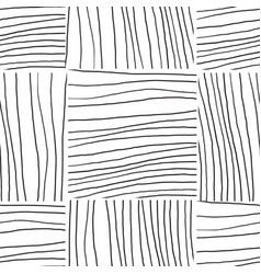 abstract background with lines black and white vector image