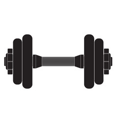 dumbbells icon vector image