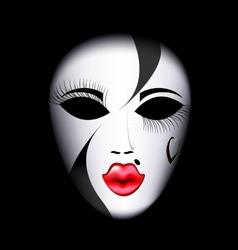Face mask vector