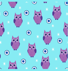 halloween pattern vector image