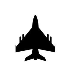 jet icon vector image