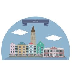 Nassau vector image