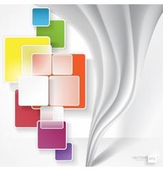 White Square Element vector
