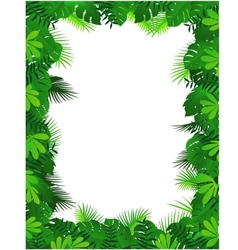 forest background vector image