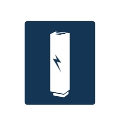Backup energy supply icon vector