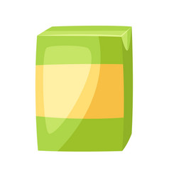 stylized box juice vector image