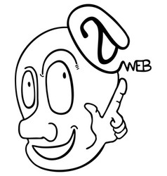 Web puppet vector