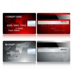 Card credit vector