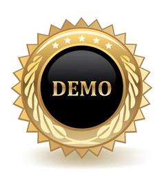 Demo Badge vector