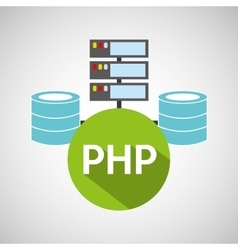 Php language data base storage vector