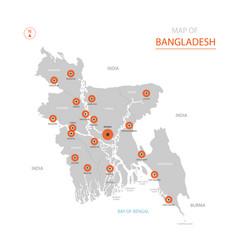 Stylized bangladesh vector
