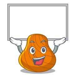 up board hard shell character cartoon vector image