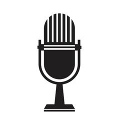 microphone transmission information live vector image