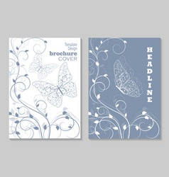 modern templates for brochure vector image vector image
