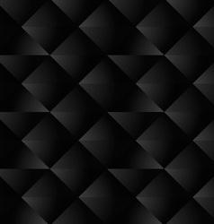 Black Geometric Seamless Pattern vector image vector image