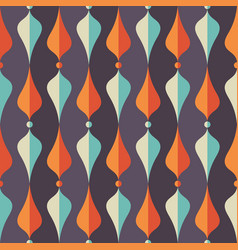 background mid-century modern art abstract vector image