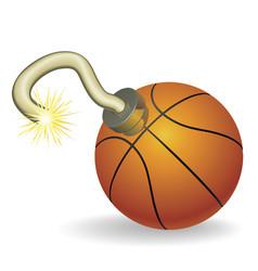Basketball countdown vector