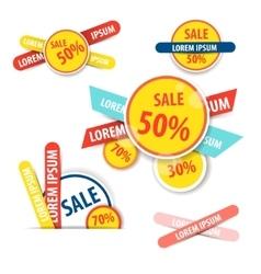 Set of Website Banner vector image