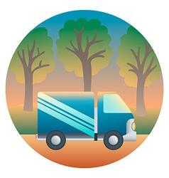 Truck Detailed vector