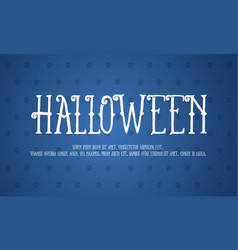 halloween background design collection vector image vector image