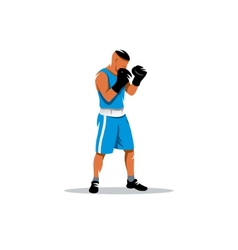 The boxer sign vector image
