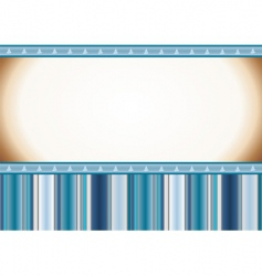 Christmas light blue card vector image vector image