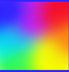rainbow color gradient mesh background trendy vector image