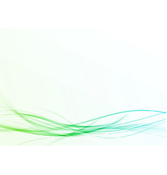 bright fresh abstract futuristic modern lines vector image