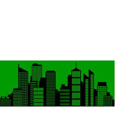 city and flag of saxony vector image