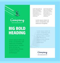 Dubai hotel business company poster template vector