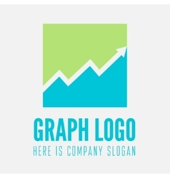 Minimal square design logo business icon vector image