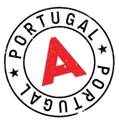 Portugal stamp rubber grunge vector image