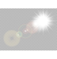 Sunlight special lens flare EPS 10 vector image