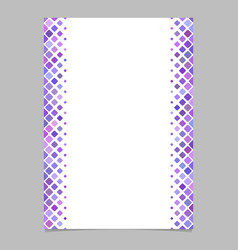 Abstracvt brochure template from purple diagonal vector