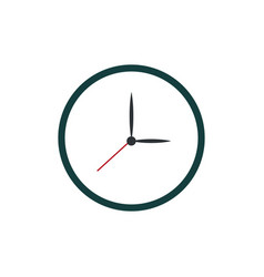 Clock watch time icon vector