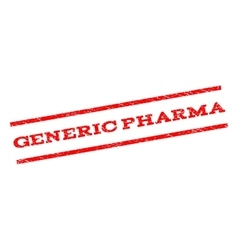 Generic Pharma Watermark Stamp vector