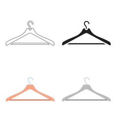 Hanger icon for web and vector
