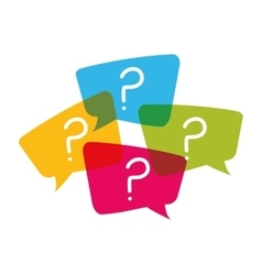 Question and solutions vector image