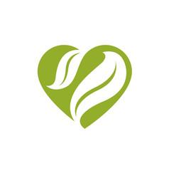 Romantic heart homeopathy creative symbol vector