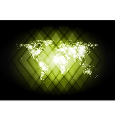 Abstract world map shiny backdrop vector