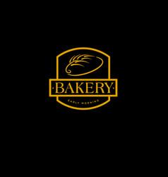 Bakery logo pastry logo vector