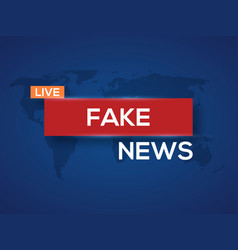 breaking news world news with map backgorund vector image